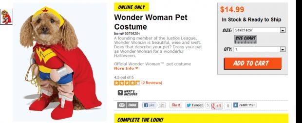 Dog Costume Wonder Woman Dog Halloween Wonder Woman