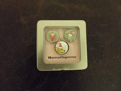 MarmarSuperstar - Santa Dog Necklace Set 01