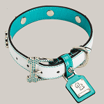 chromebones dog collar ft
