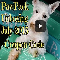 Pawpack Unboxing July ft