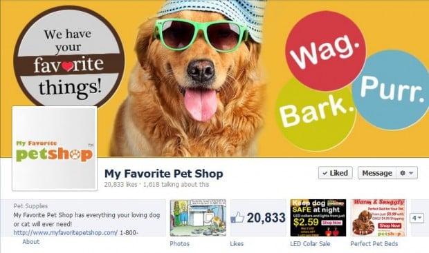 My Favorite Pet Shop Facebook Page - Dog accessories - Dog Boutique - Pet items