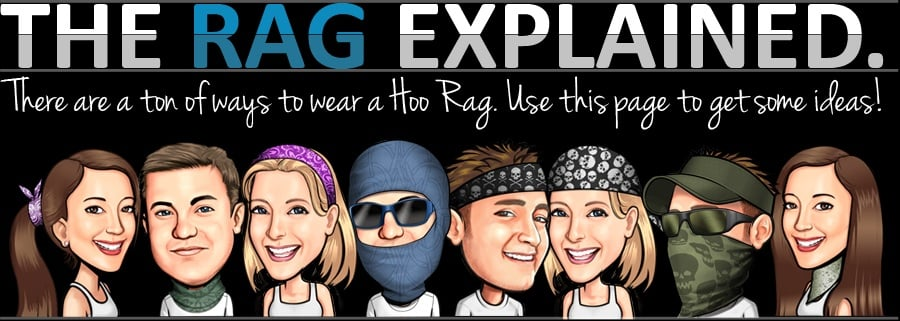 How to wear a hoo rag