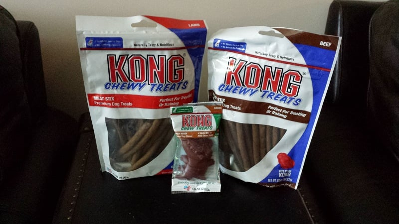 KONG dog treats