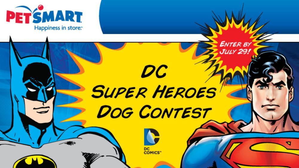 PetSmart Super Heroes Dog Contest