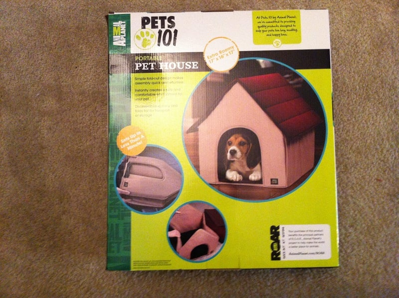 Animal-Planet-Pets-101-Portable-Pet-House Animal Planet Portable Pet House on animal planet portable pet bed, folding indoor pet house, pet supply dog house,