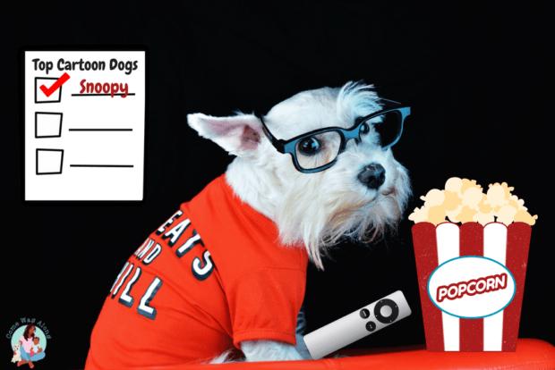 Top Cartoon Dogs - ComeWagAlong.com