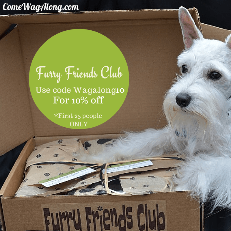 coupon code furry friends club