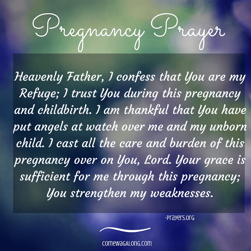 Letters to Baby: Week 6 - Come Wag Along |Prayer For Unborn Baby