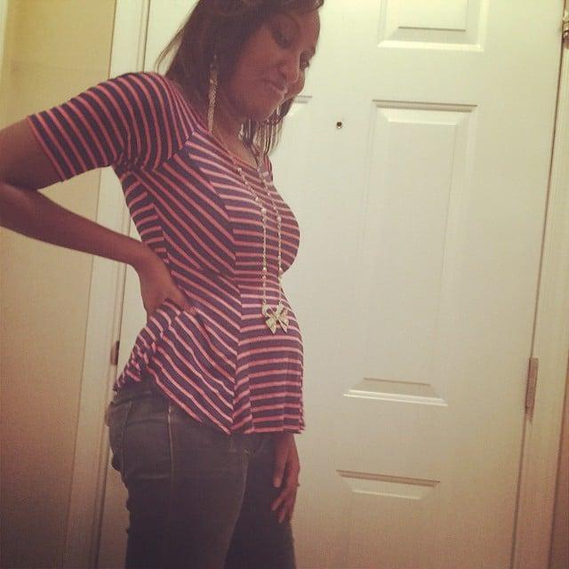 baby bump week 16