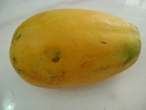 Baby Size of Papaya