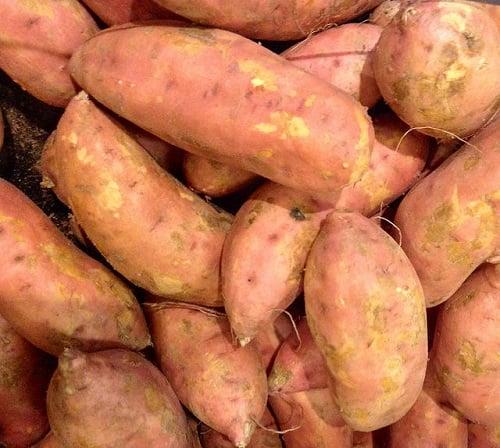 Baby Size of Sweet Potato