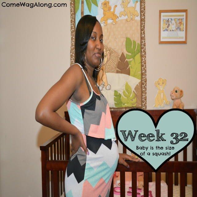 Baby Bump Week 32