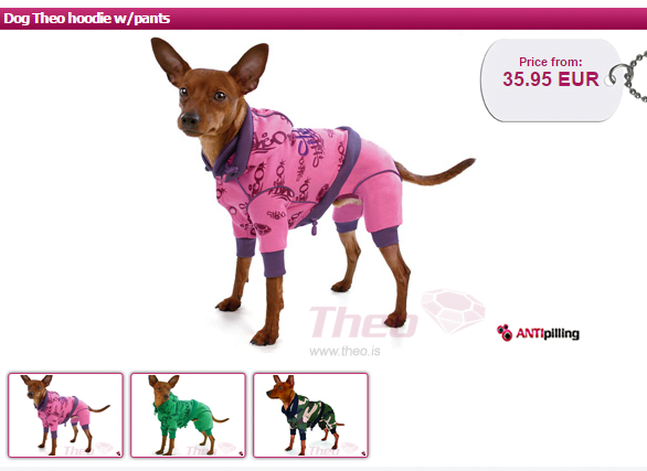 Check out our review of Theo Dog Fashion and the dog hoodie on ComeWagAlong.com