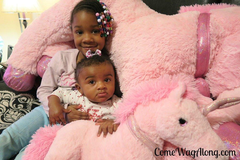 Baby's 1st Valentine's Day Big Sis Lil Sis