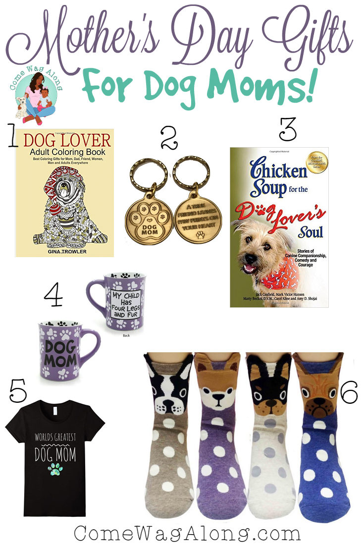 dog mom gifts for mothers day