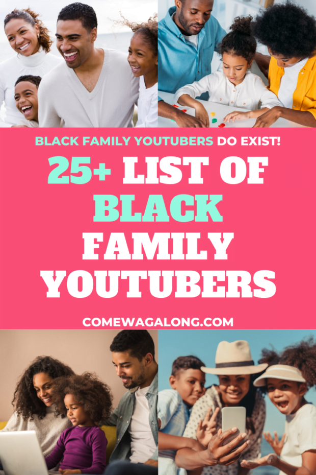 25+ List of Black Family Vloggers You Should Follow