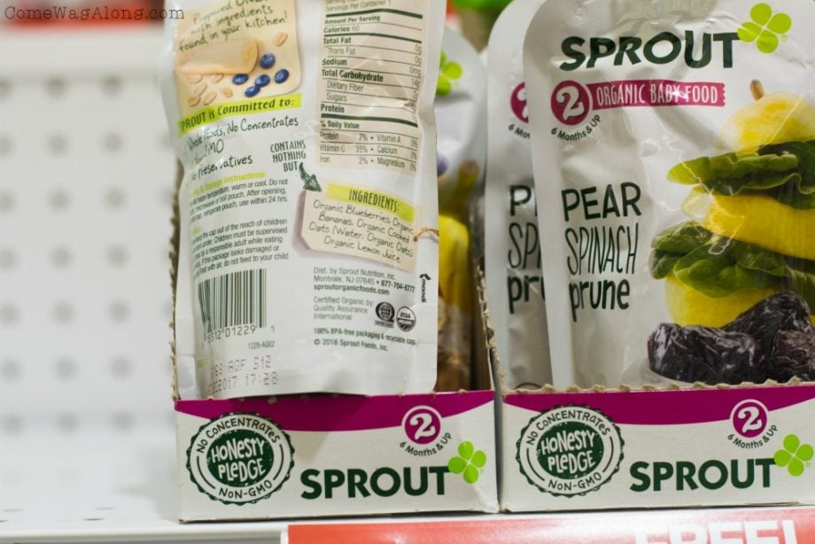Sprout Organic Foods keeps it honest