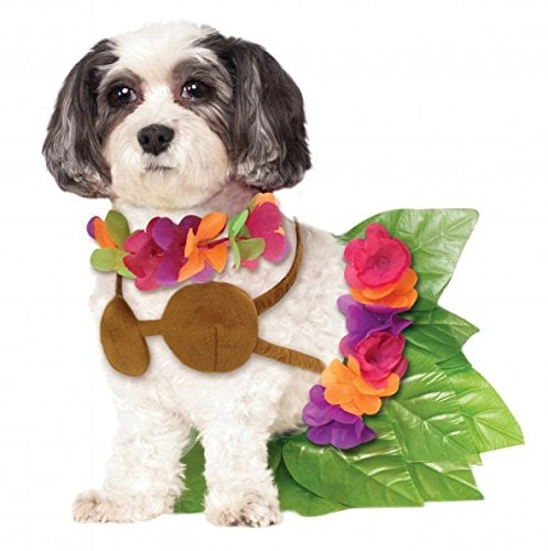 Hula Girl Dog Halloween Costume