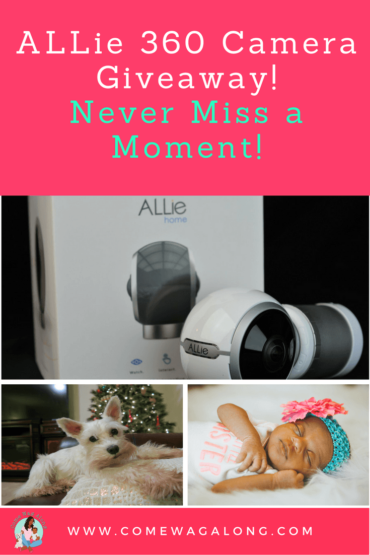ALLie 360 Camera Giveaway! Never miss a moment! - ComeWagAlong.com