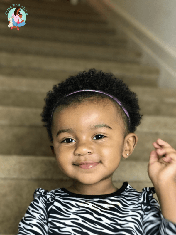 how to do a wash and go - toddler hairstyles
