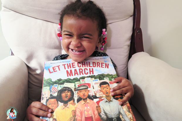 Let The Children March Picture Black History Book