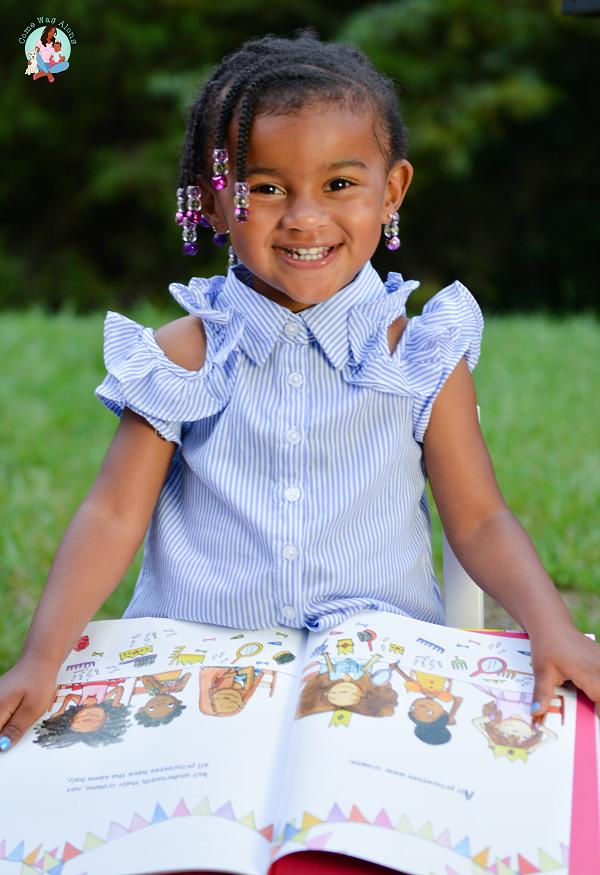 Toddler Loves Books Milestone Monday