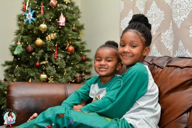 Matching Sibling Christmas Pajamas