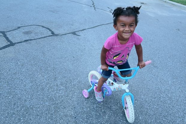 Learning How to Ride a Bike