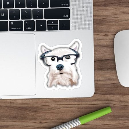 Schnauzer Dog Stickers