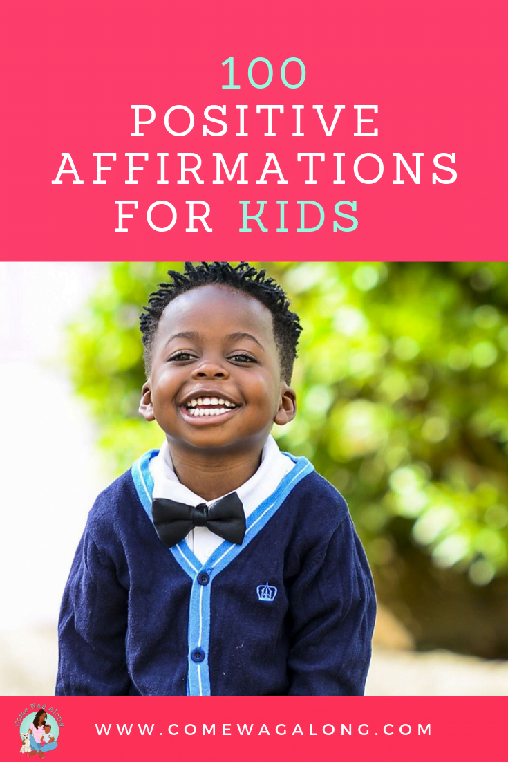 100 Positive Affirmations for Kids