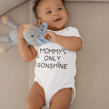Matching Mommy and Me Shirts- Mommys Only Sonshine