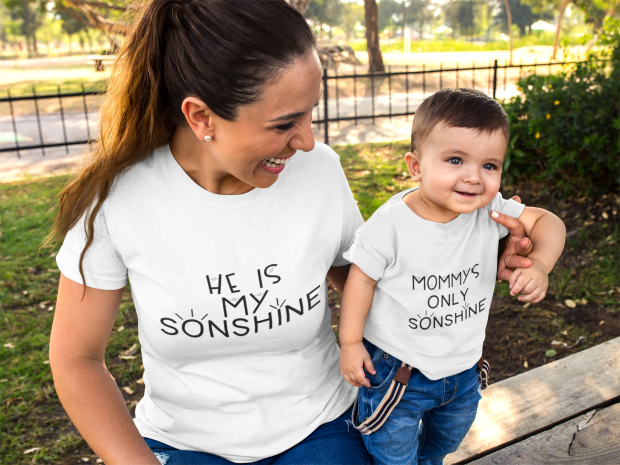 Matching Mommy and Me Shirts- My Only Sonshine