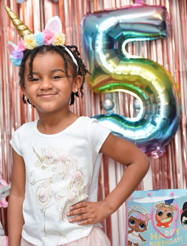 5 Year Old Birthday Photoshoot