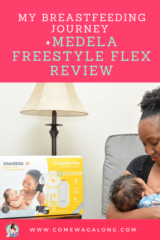 My Breastfeeding Journey + Freestyle Flex Breast Pump Review