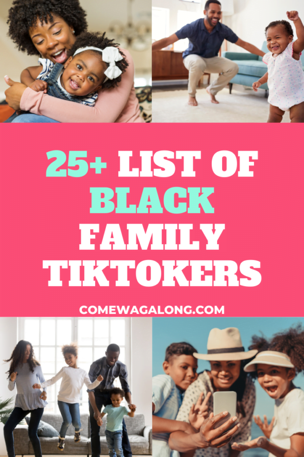 List of Black Families on TikTok that you should follow!
