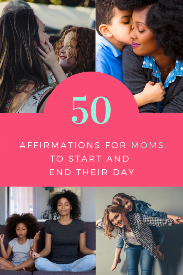 50 Affirmations for Moms to Start and End Their Day - ComeWagAlong.com