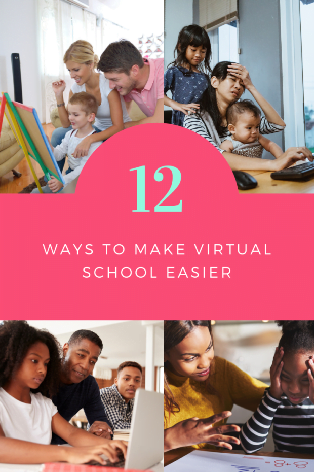 12 Ways to Make Virtual School Easier - ComeWagAlong.com
