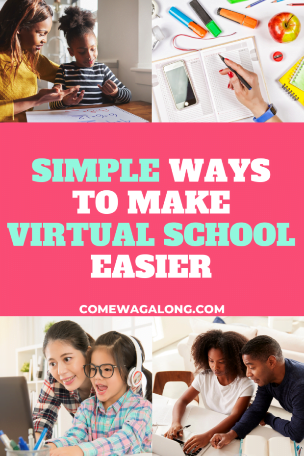 How to Make Virtual School Easier - ComeWagAlong.com