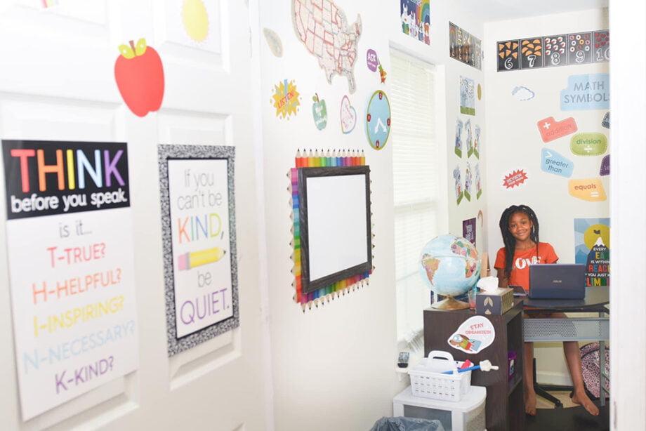 home classroom ideas