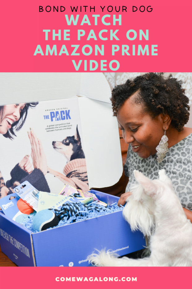 Watch the Pack on Amazon Prime Video - Learn more at ComeWagAlong.com