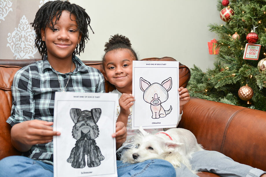 Max & Bo: Two Dogs on the Go Free Dog Coloring Pages