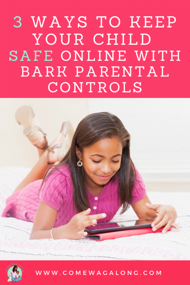 How to Keep Your Child Safe Online -ComeWagAlong.com